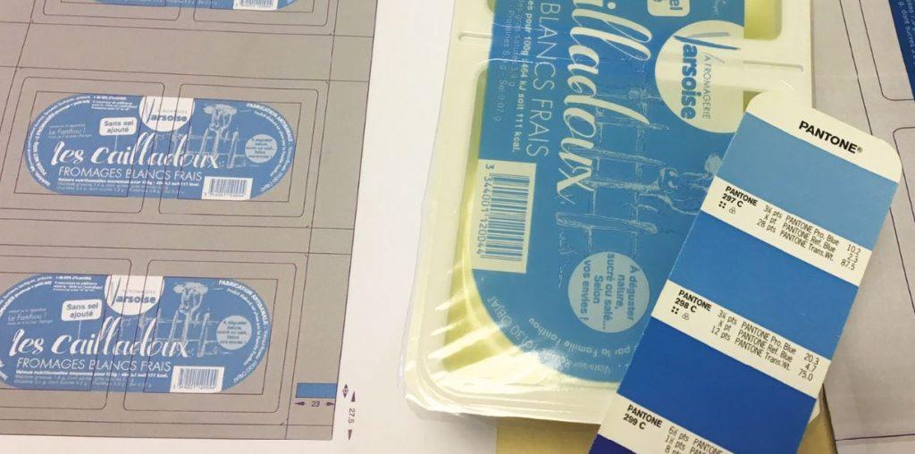 Nouveaux codes de la marque, appliqués aux diff érents packaging...